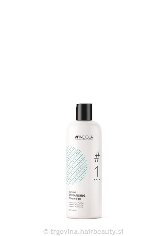 IND. - CLEANSING SHAMPOO 300 ml